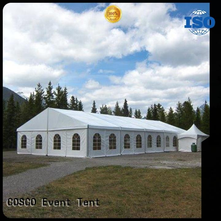 COSCO big structure tents experts for holiday