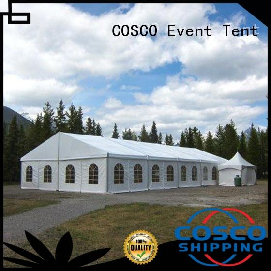 COSCO small tent structure supplier for disaster Relief