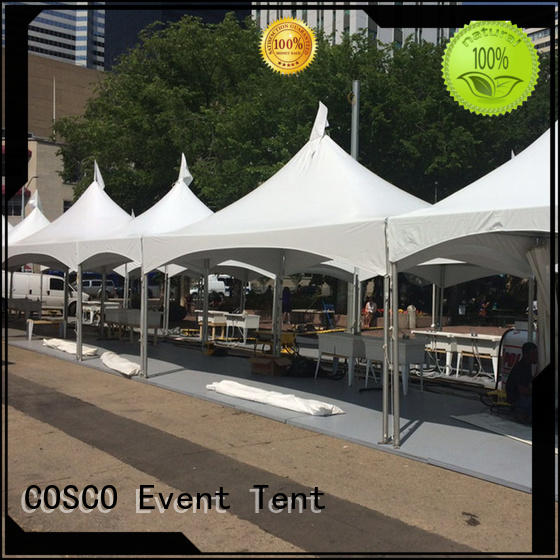 COSCO supernacular party tent effectively
