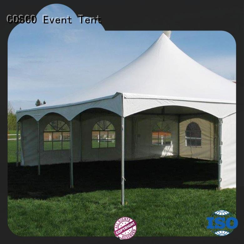 structure Custom glass wedding clear frame tent COSCO ft