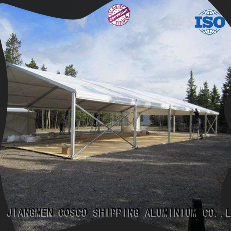 COSCO high peak structure tents for sale owner Sandy land