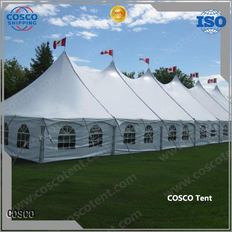 COSCO newly peg and pole tents for sale widely-use foradvertising
