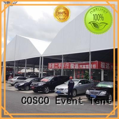 COSCO glass wedding tent producer factory