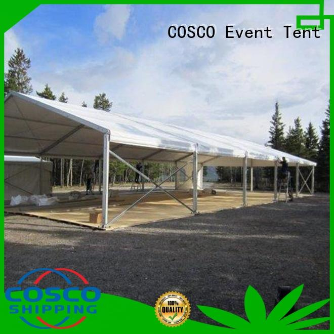 COSCO polygon party tents for sale type for disaster Relief