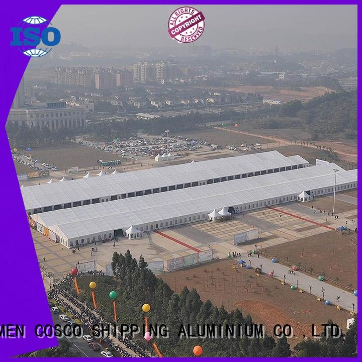 COSCO aluminium party tents for sale owner