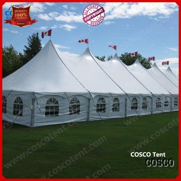 outdoor tent event pole Sandy land COSCO