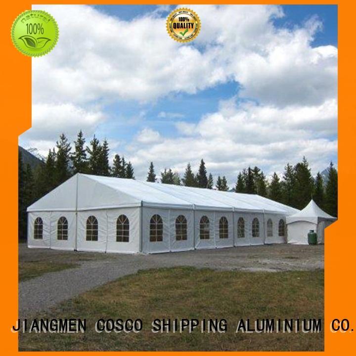 supplier tent COSCO Brand big tent aluminium structure for sale