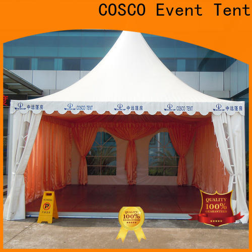 reasonable gazebo canopy tent 5x5m certifications Sandy land