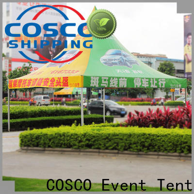 COSCO aluminum screened gazebo cold-proof