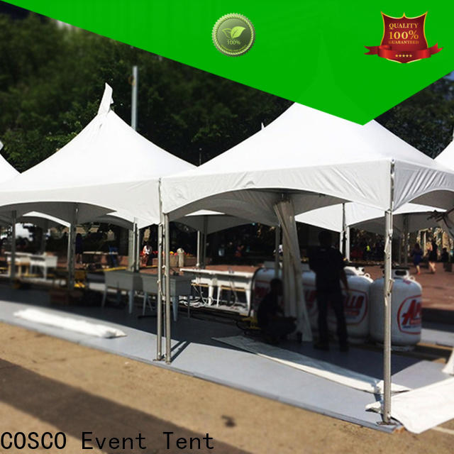COSCO 6x6m garden gazebos supplier cold-proof