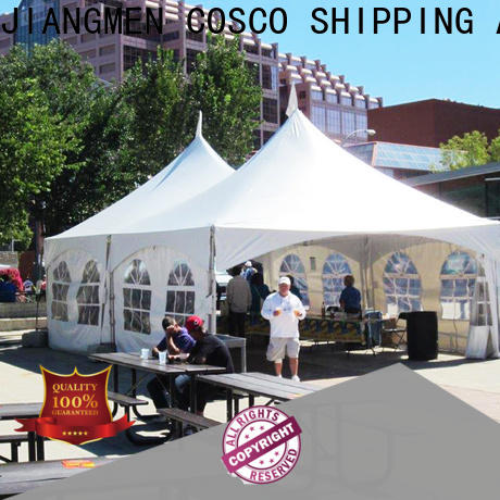 COSCO distinguished party tents for sale in-green rain-proof