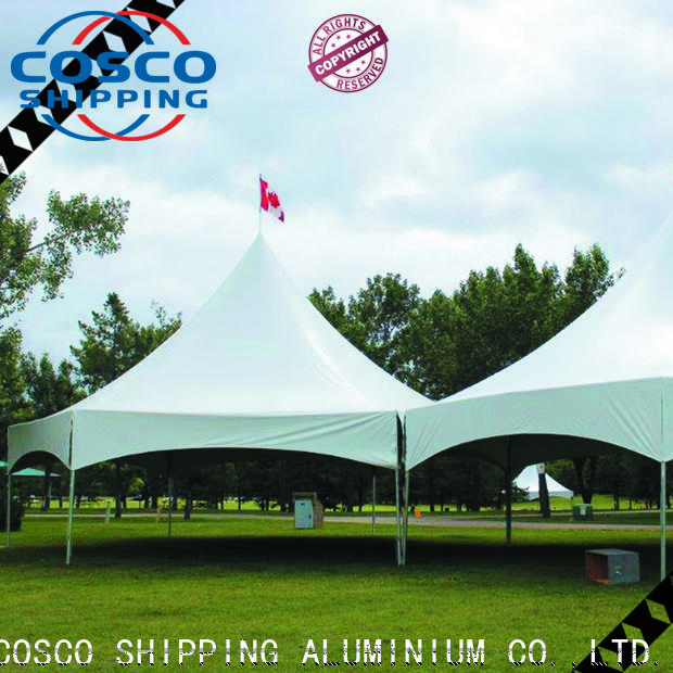 COSCO new canvas a frame tent China cold-proof