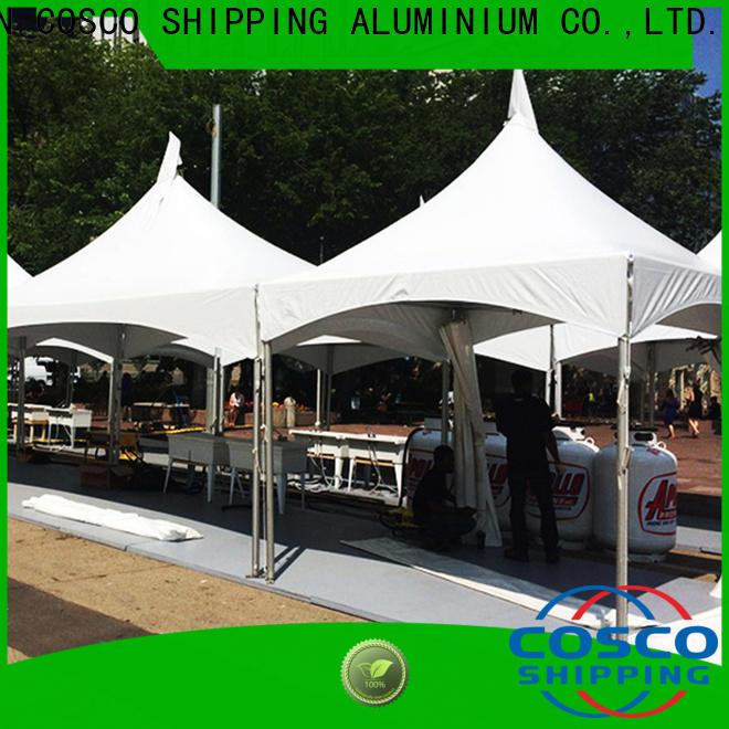 COSCO derive frame tent rental marketing pest control