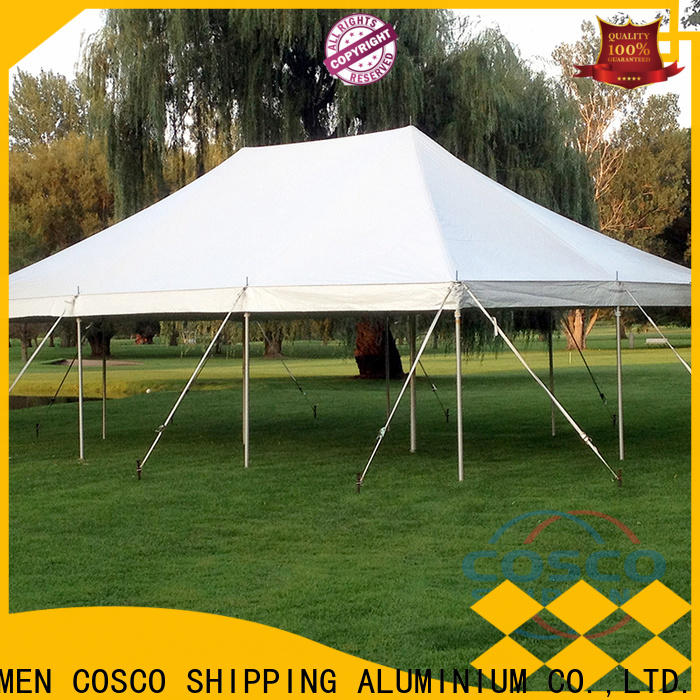 COSCO pole camping cot certifications cold-proof