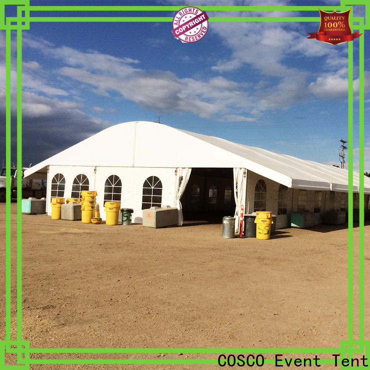 COSCO safety arcum tent marketing factory