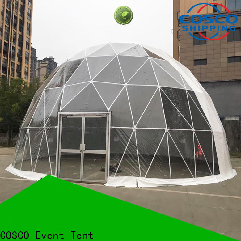 COSCO event dome tents for sale factory for disaster Relief