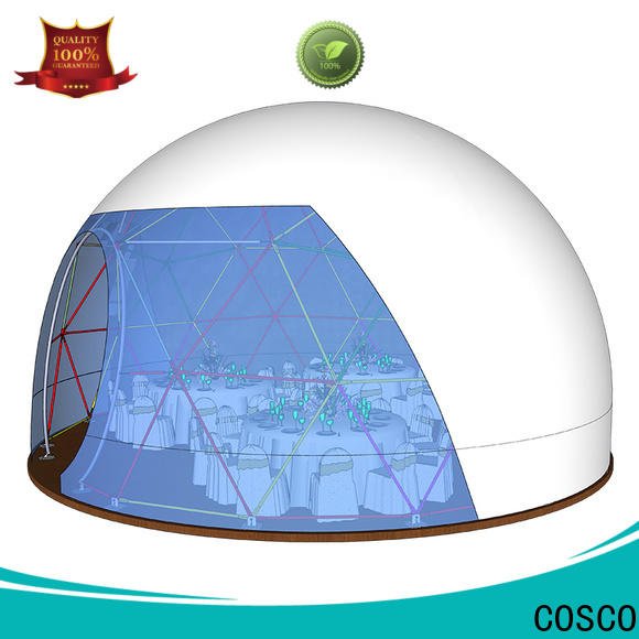 COSCO wedding event tents for sale in different shape grassland