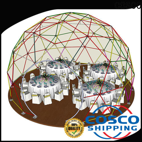 COSCO aluminum geodesic dome tent snow-prevention