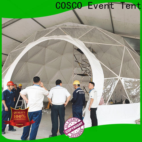 pvc geodesic dome tents event long-term-use cold-proof