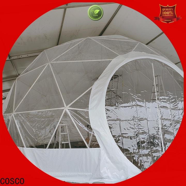 pvc dome tents for sale available in-green factory