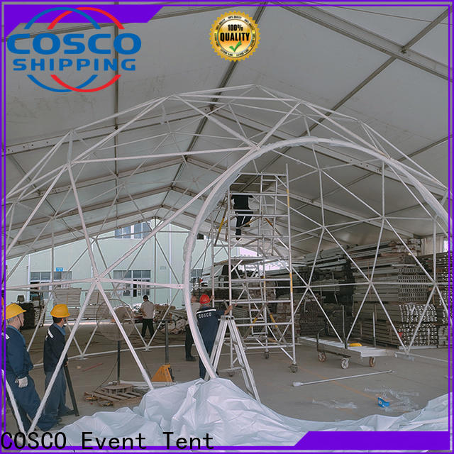 COSCO pvc event tents for sale for sale cold-proof