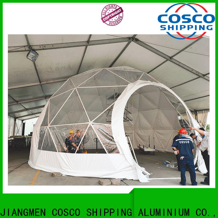 COSCO dome geodesic dome tents certifications dustproof