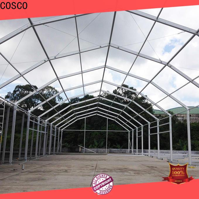 COSCO glass large tent rental pest control