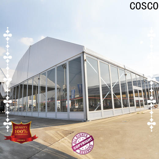 COSCO glass wedding tent rental cost producer anti-mosquito