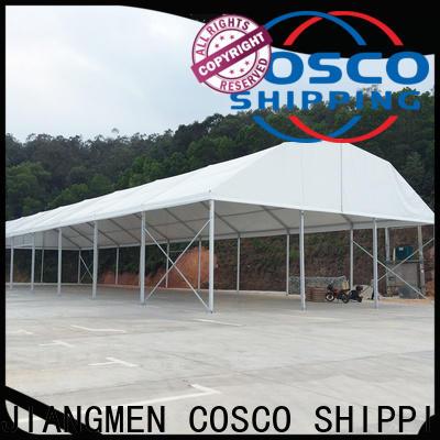 COSCO polygon frame tent snow-prevention