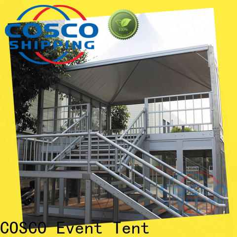 COSCO decker party tents supplier for camping