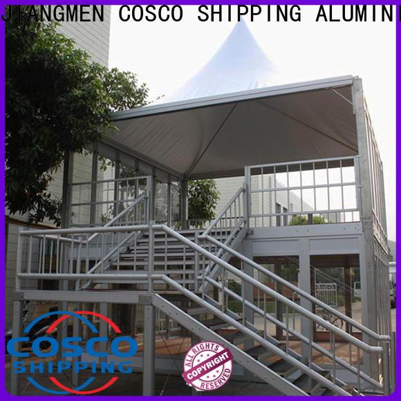 COSCO pagoda carport canopy owner grassland