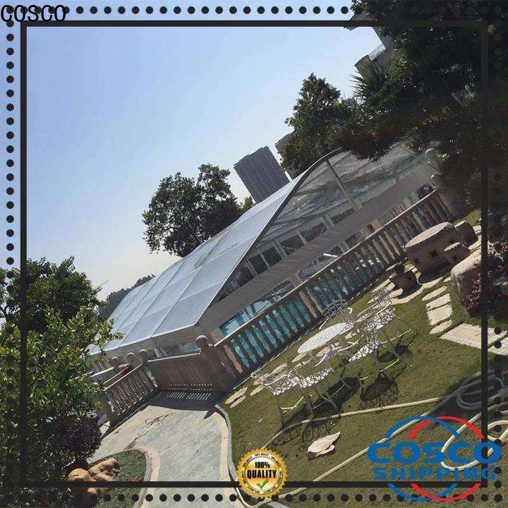 COSCO outstanding pvc tent  manufacturer for party