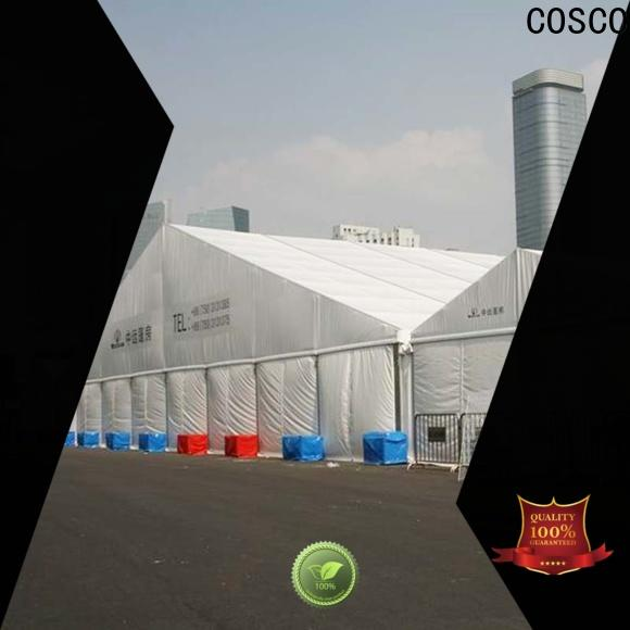 COSCO marquee commercial party tents foradvertising