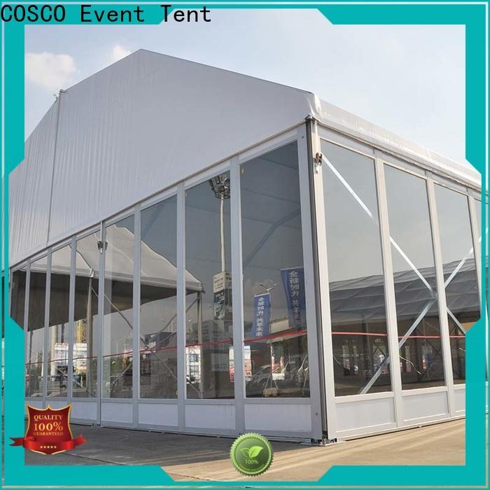 COSCO custom party tent rentals vendor for event