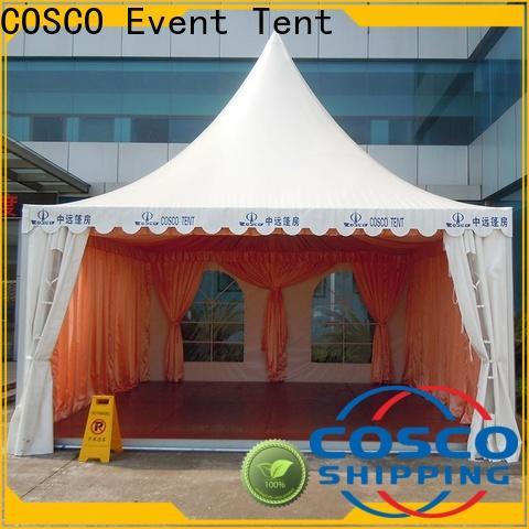 COSCO marquee tents for sale producer dustproof