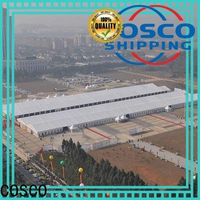 COSCO 40x60m commercial party tents experts Sandy land