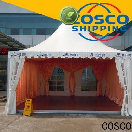 COSCO pagoda pop up gazebo manufacturer cold-proof