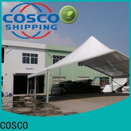 COSCO distinguished high peak tent supplier Sandy land