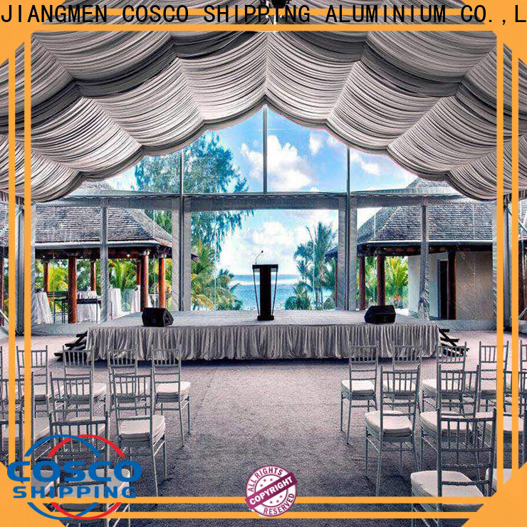 custom outdoor party tents canopy cost for disaster Relief