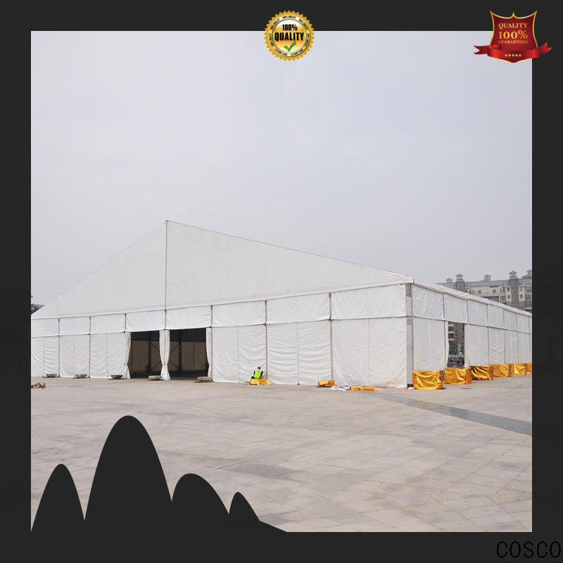 COSCO pagoda structure tent cost for disaster Relief