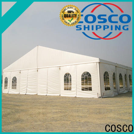 COSCO small outdoor party tents experts for engineering