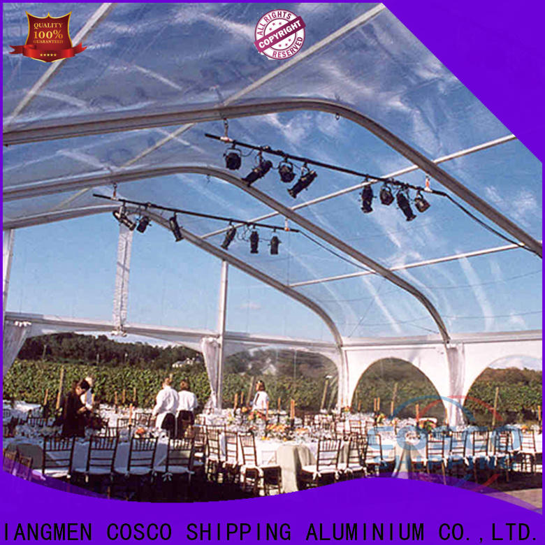 COSCO sale large tent for sale marketing for engineering