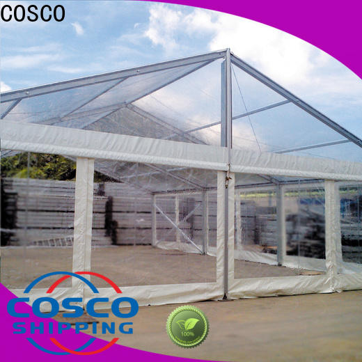 COSCO aluminium wedding tents for sale supplier for holiday