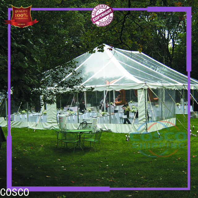 COSCO party wedding tents supplier for disaster Relief