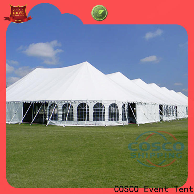 COSCO marquee custom tents cost for holiday