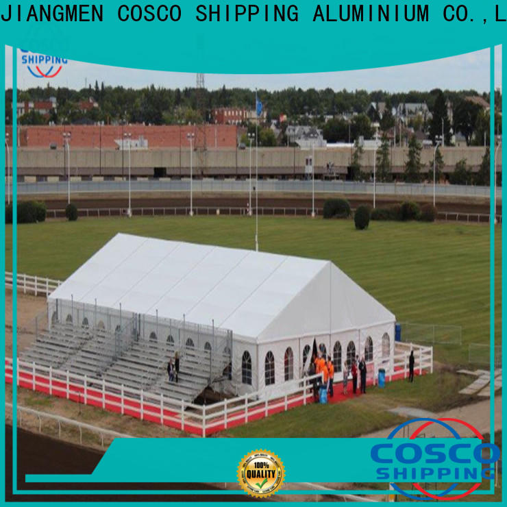 COSCO modular party tents for sale near me marketing grassland