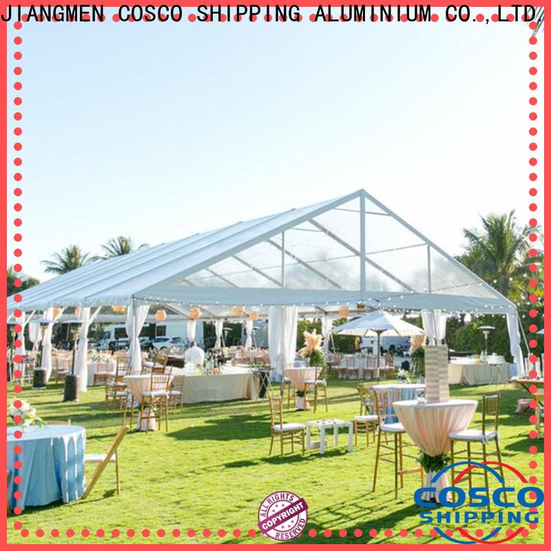 COSCO white tents for sale supplier grassland