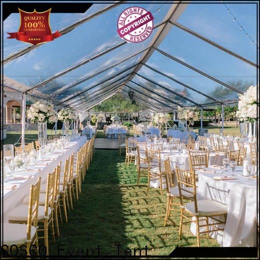 COSCO commercial party tents for disaster Relief
