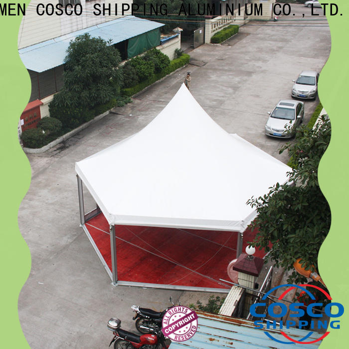 COSCO 5x5m screened gazebo certifications rain-proof