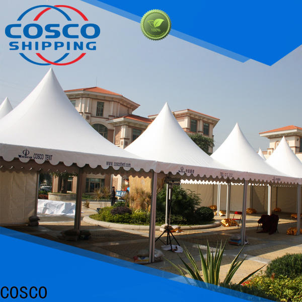 COSCO event gazebo replacement canopy supply for disaster Relief